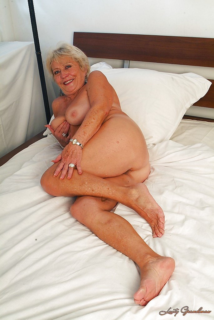 Granny spreads her legs are certainly