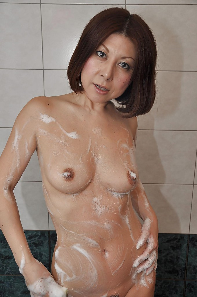 ASIAN MILF BATH