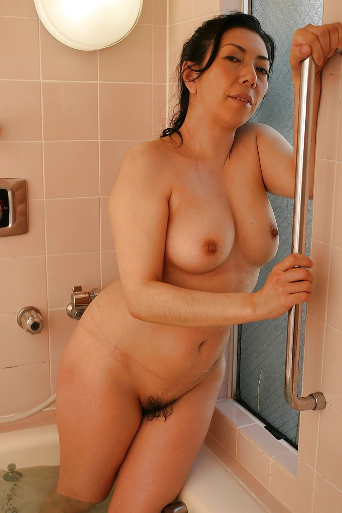 from Zaire bathing asian lady boobs