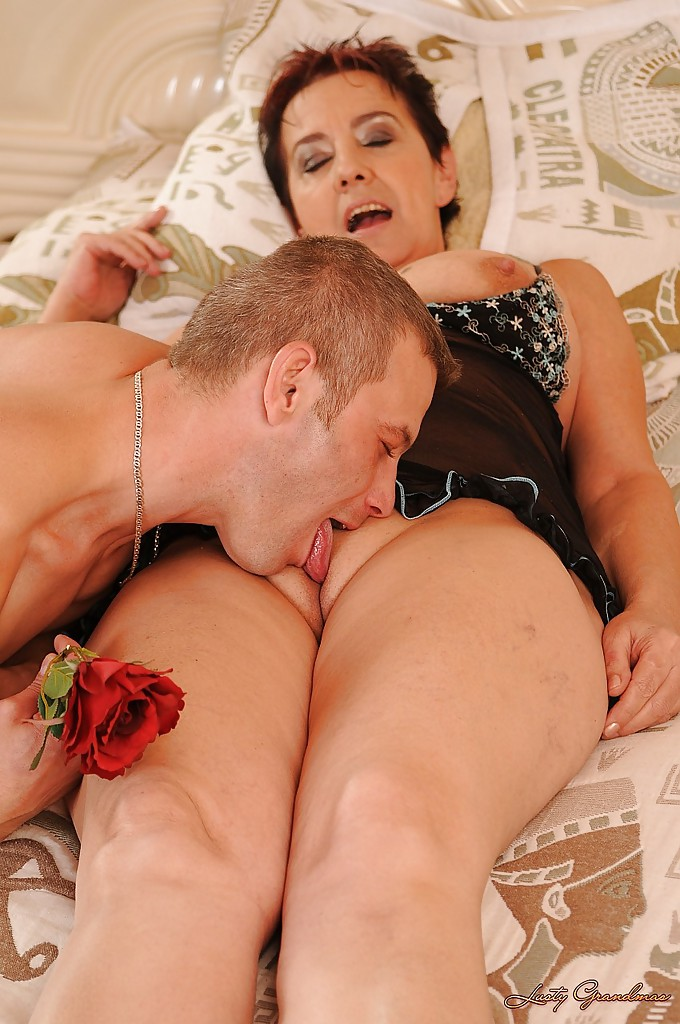 Russian mature fuck younger boy 8