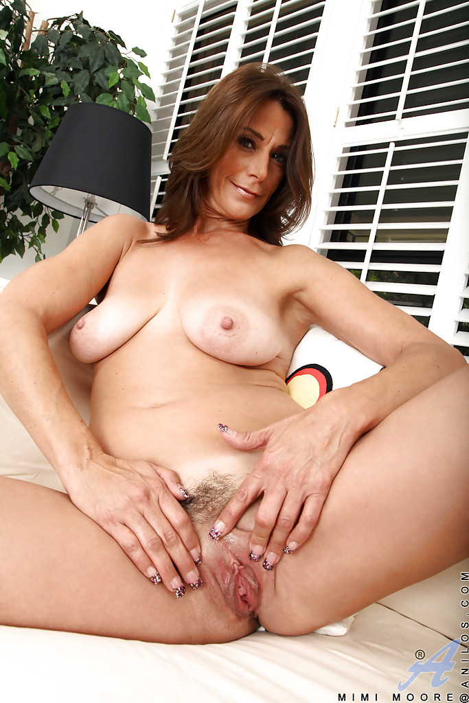 Mature cum on cock