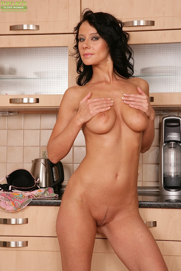 image Old mature brunette going south of the