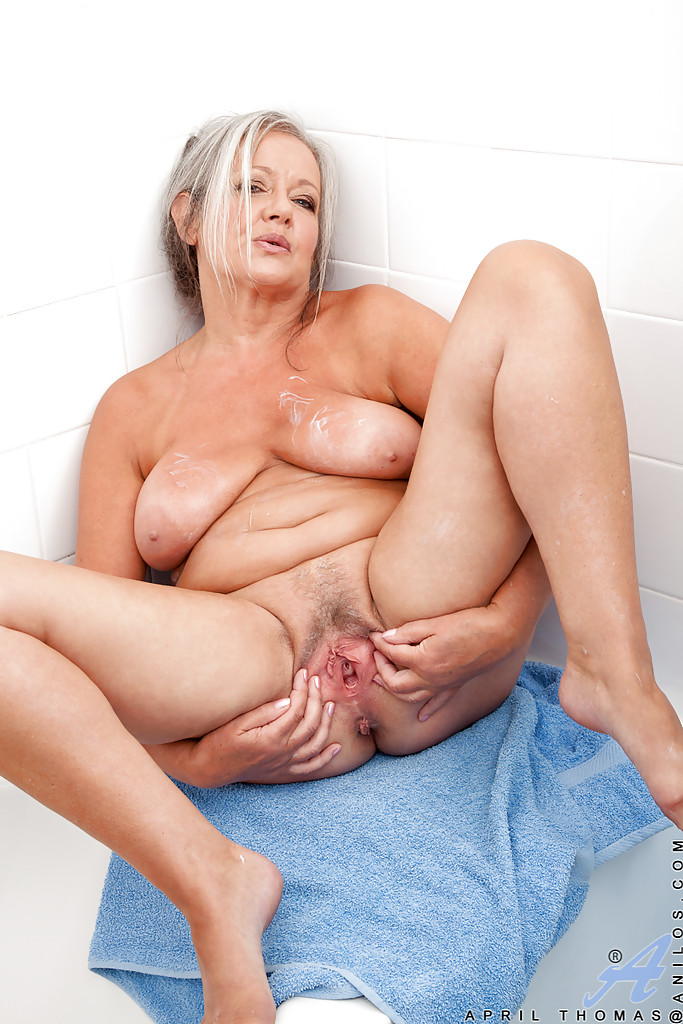 Big tits mature granny solo remarkable, very
