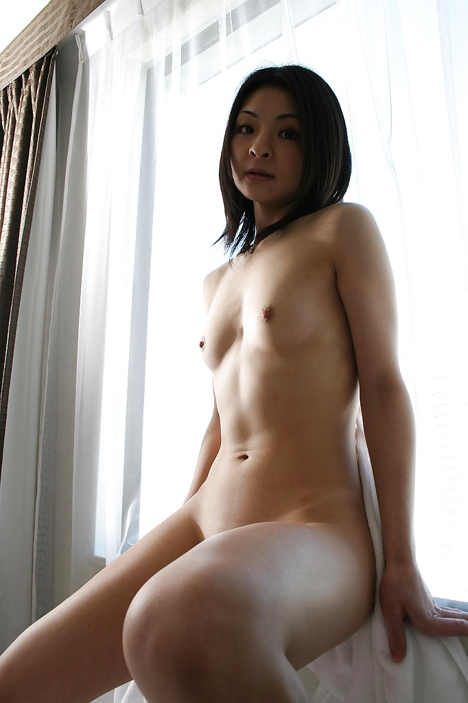 Nude fit asian milf