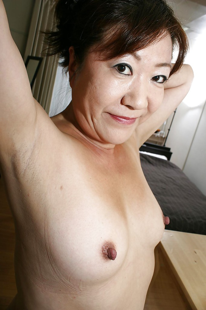 Asian granny with huge boobs