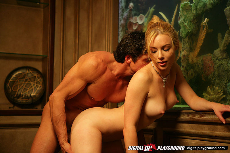 Doggie Porn Vixen - ... Busty vixen gets fucked doggy-style and shows off her cowgirl skills ...