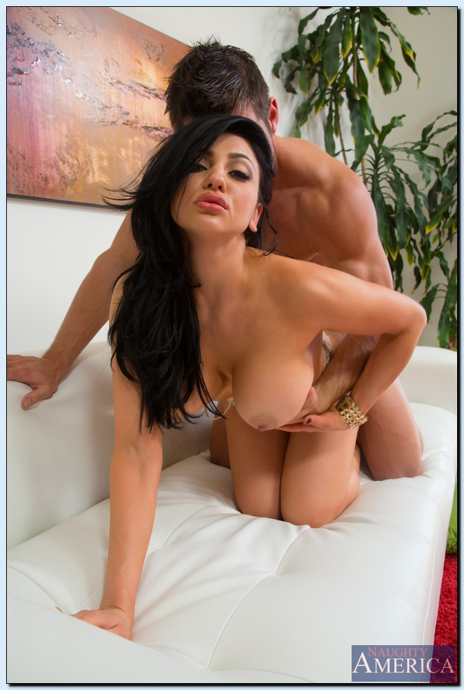 Audrey bitoni taking huge facial