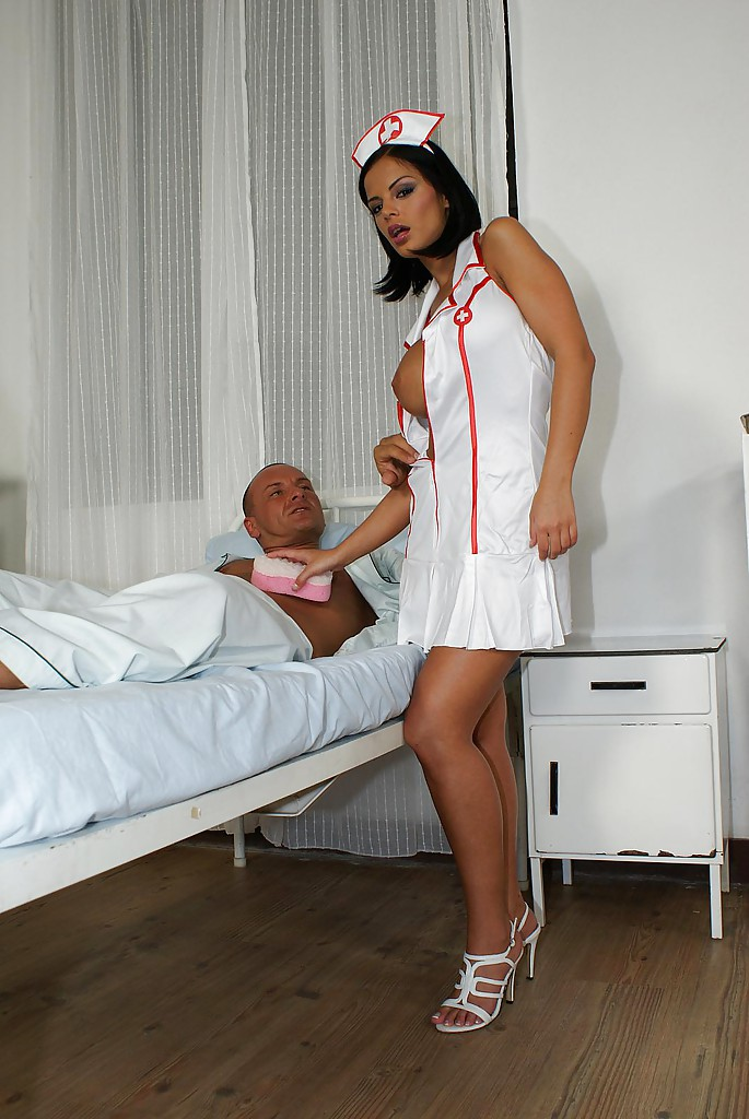 Sexy nurses cougar black