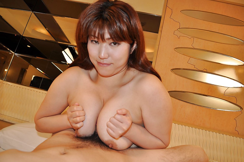 Asian MILF titjob
