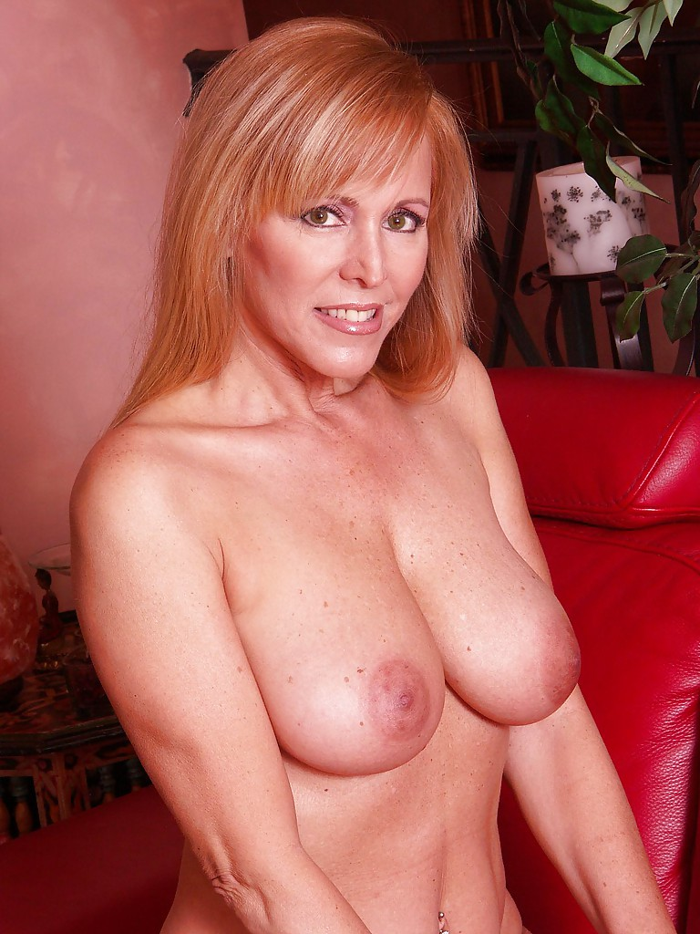 from Thatcher milf posing on couch