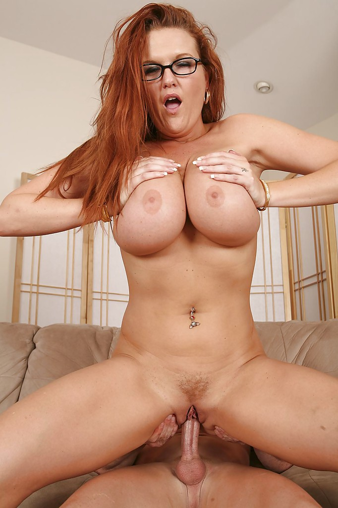 The excellent Busty redhead slut all fantasy