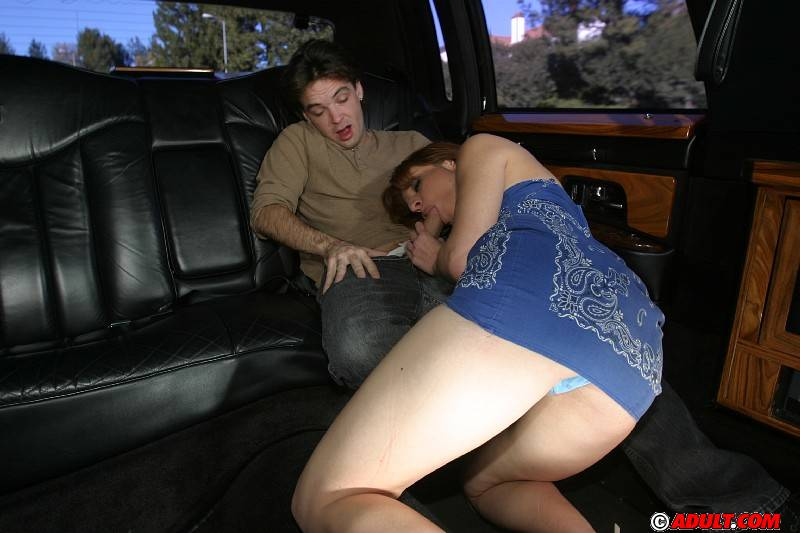Blowjob In A Limo