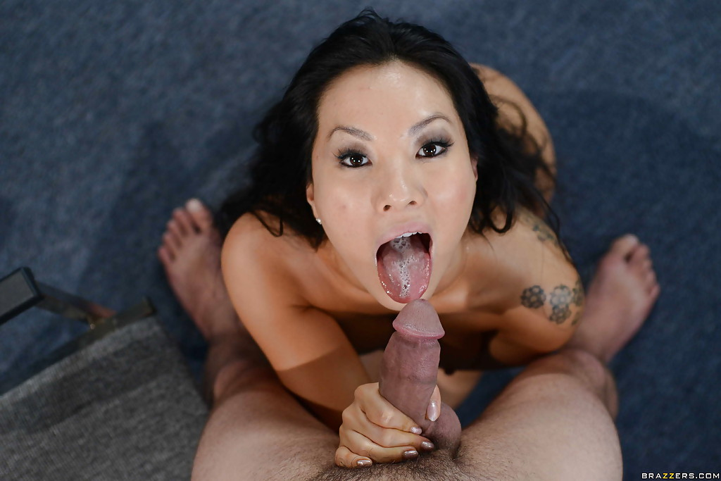 Asa Akira Giving Blowjob Fux 1