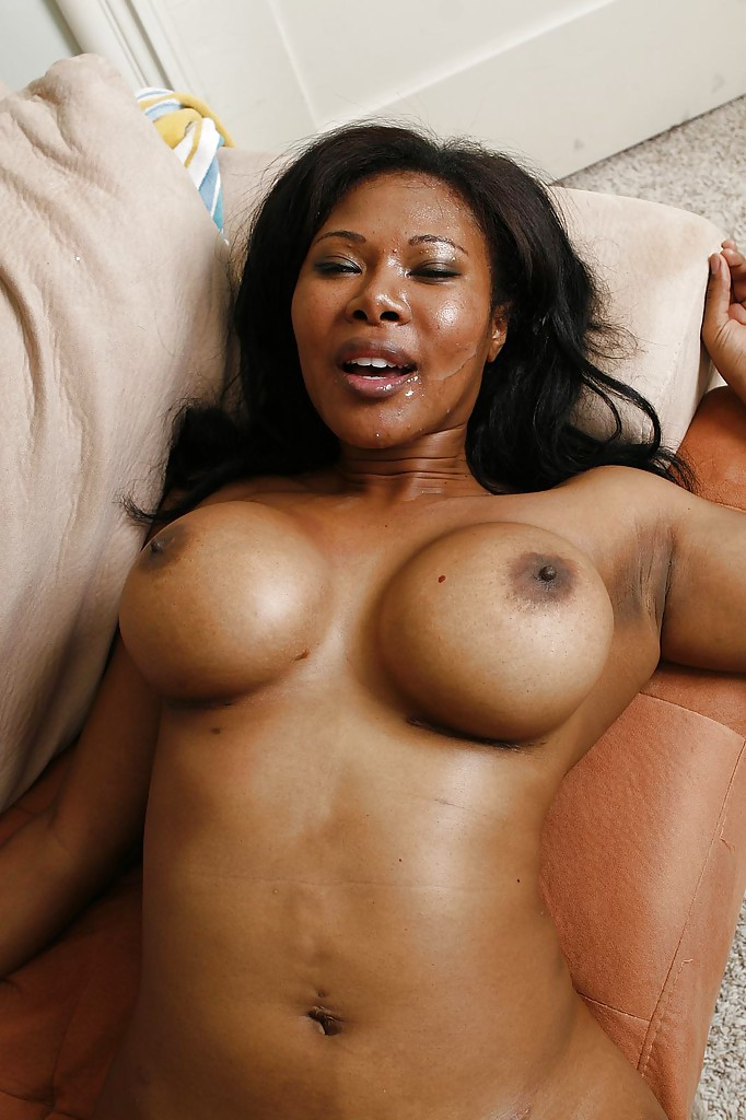 Ebony girl destroys cock video