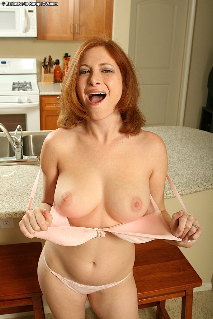 Red tube milf caught