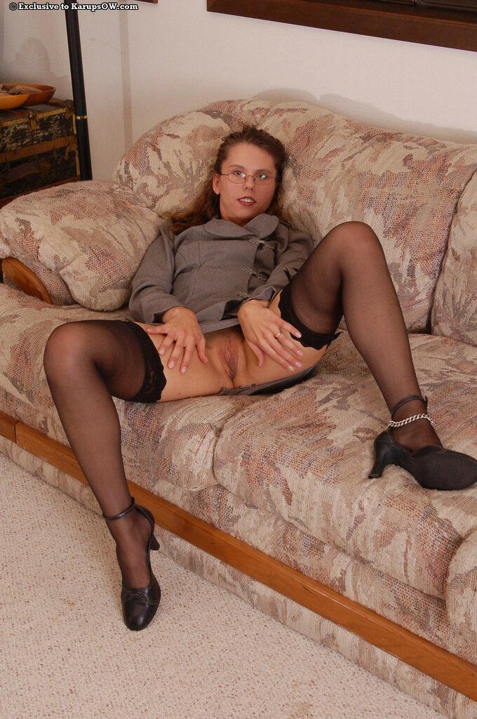 Can glass in pantyhose remarkable