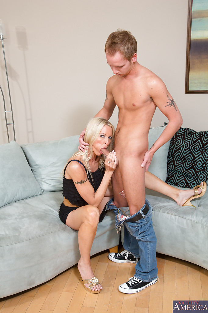 Hot Milf Fucks Young Guy