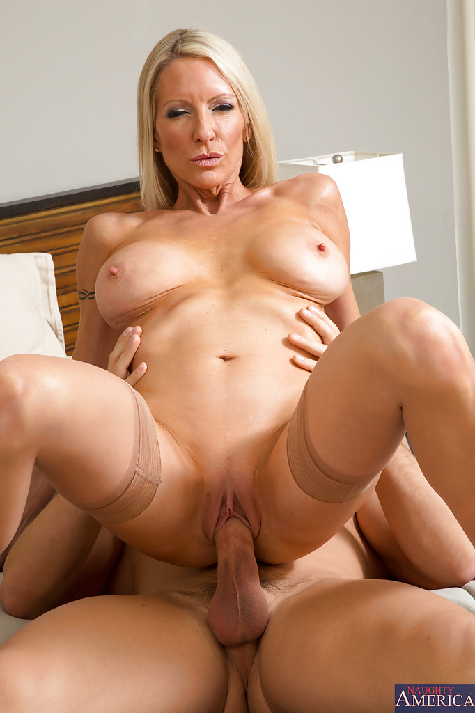 Blonde clit young