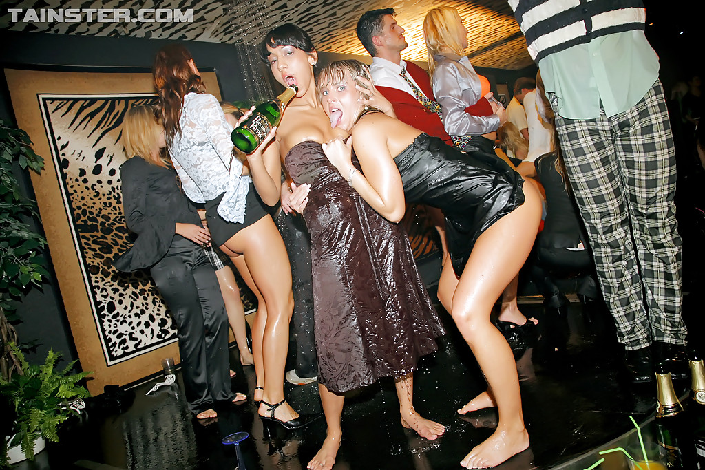 Fully clothed sex party