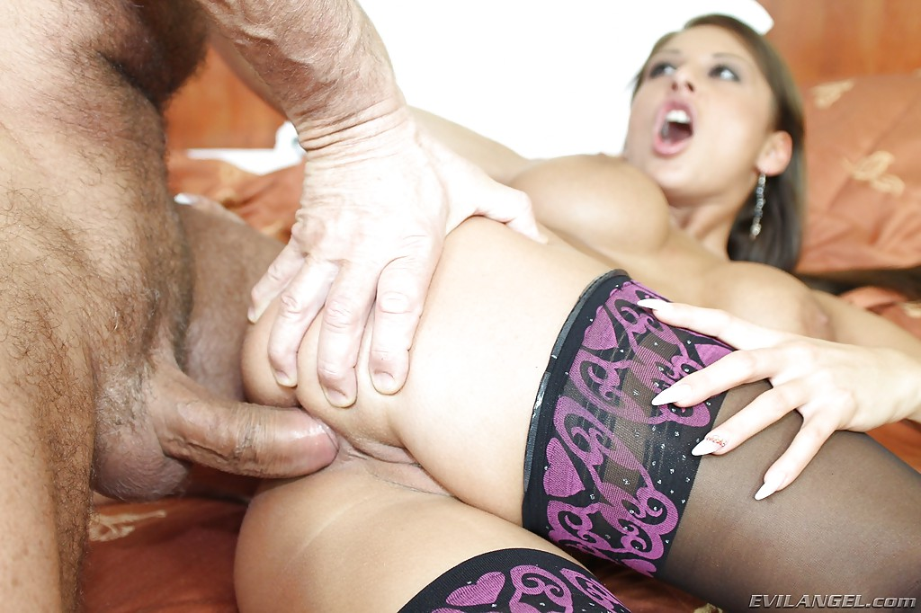 Cum In Mouth Stockings