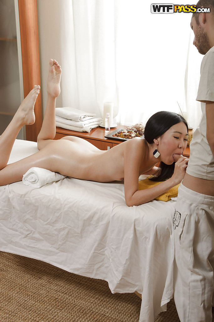 Asian Girl Gets Massage