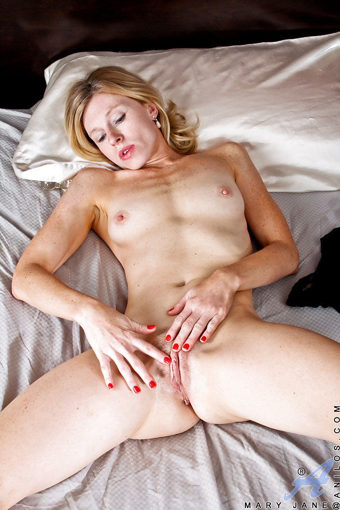 horney nude on bed