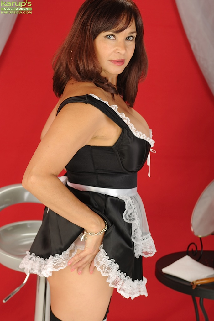 Russian mature christie maid