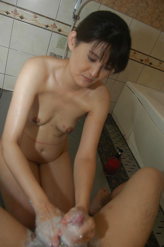 Asian Milf Handjob