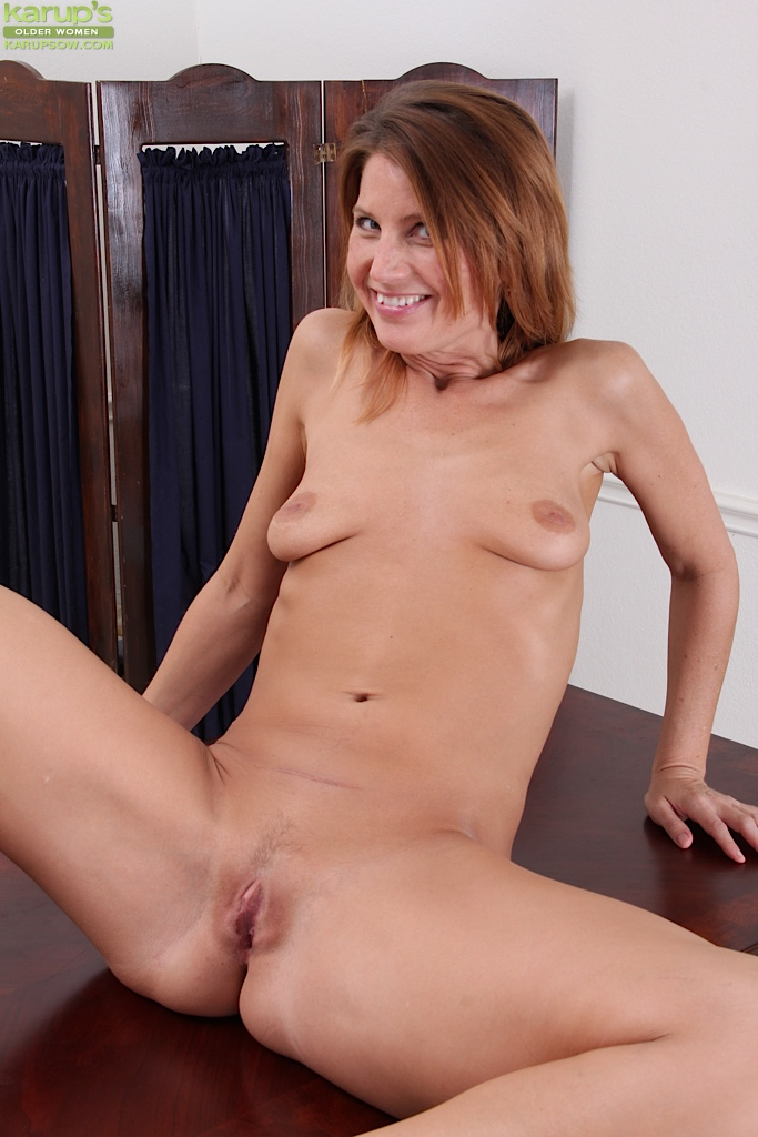 Older skinny nude wife
