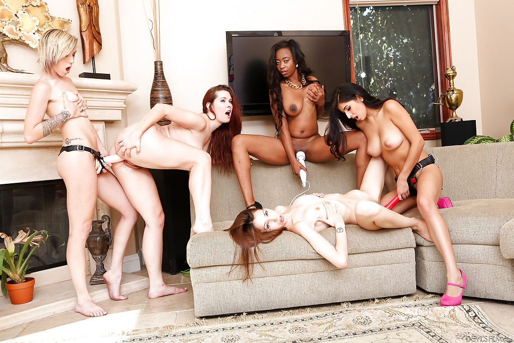 Good position. Orgys with different races