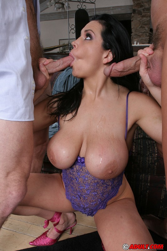 Thick Milf Anal Threesome