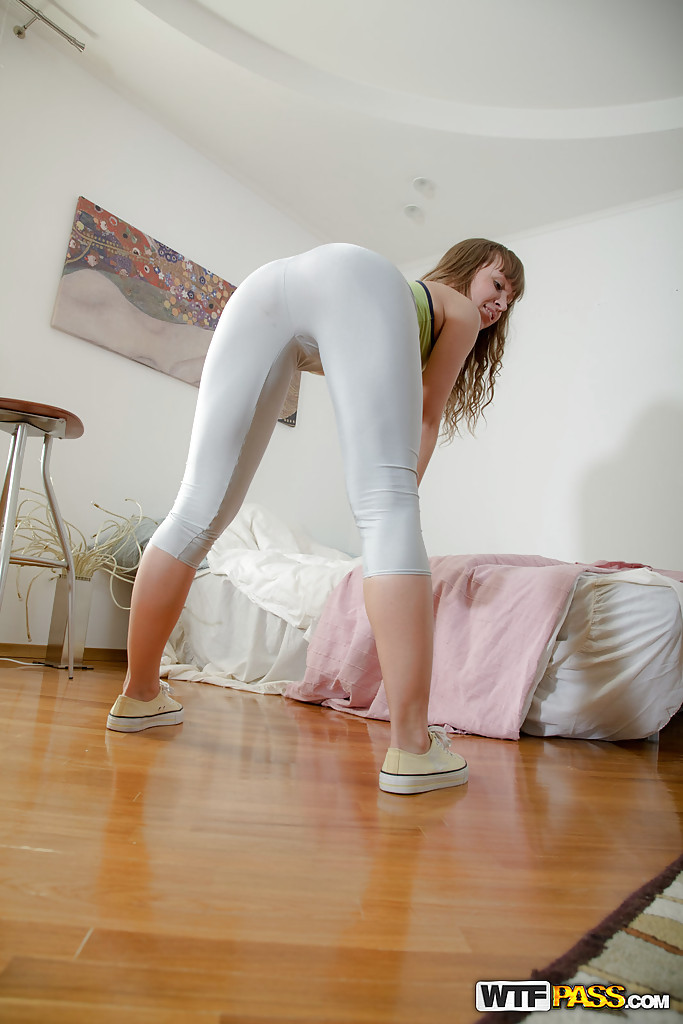 Something Non nude yoga pants are