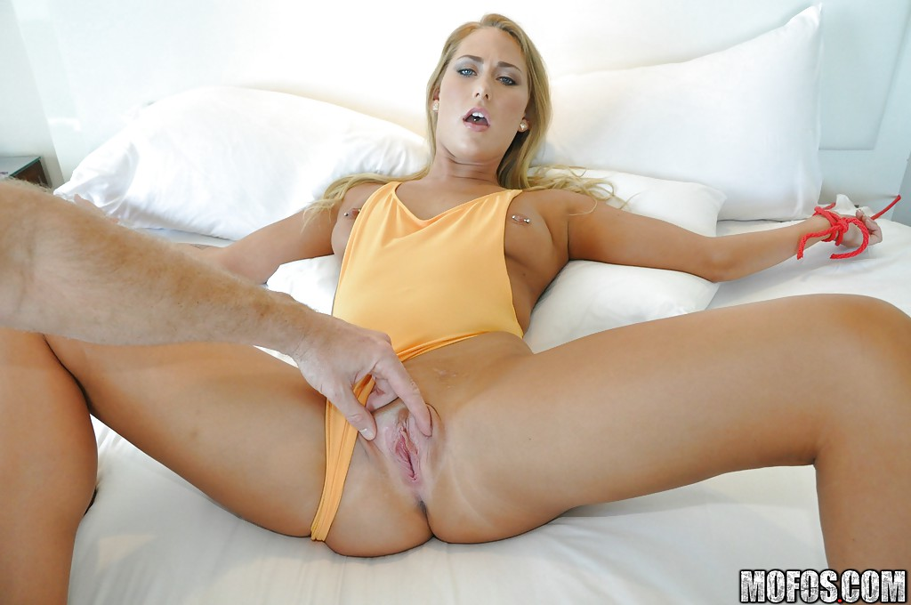 Cum On Her Shaved Pussy