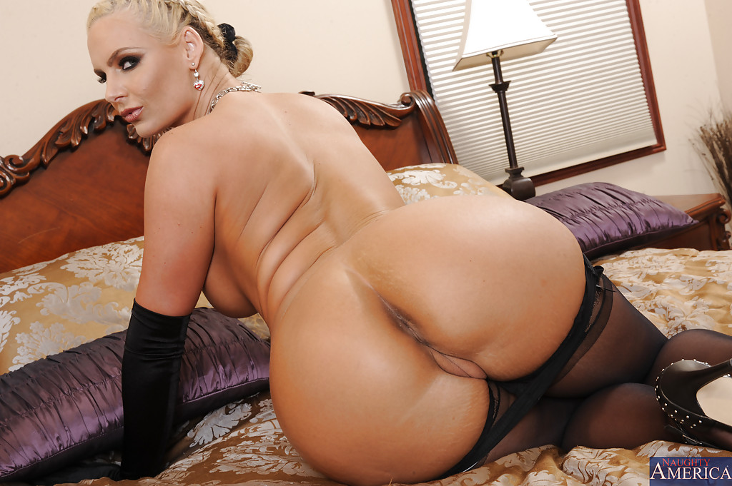 Big asses in nylons