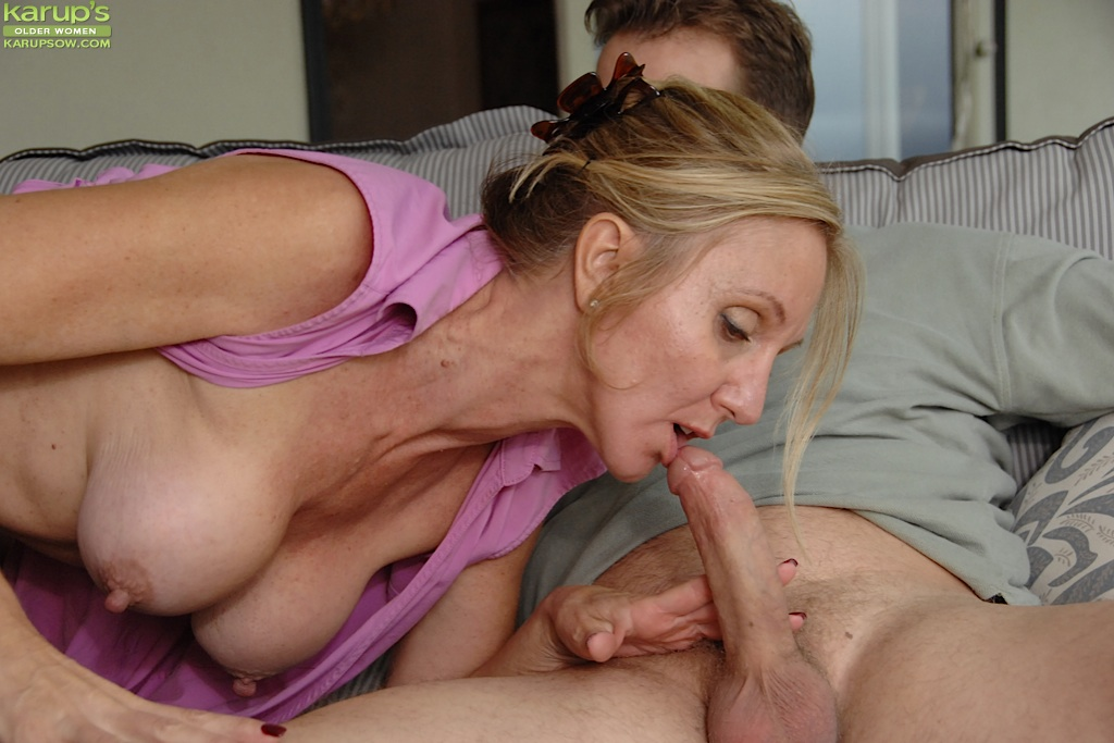 woman giving a blowjob