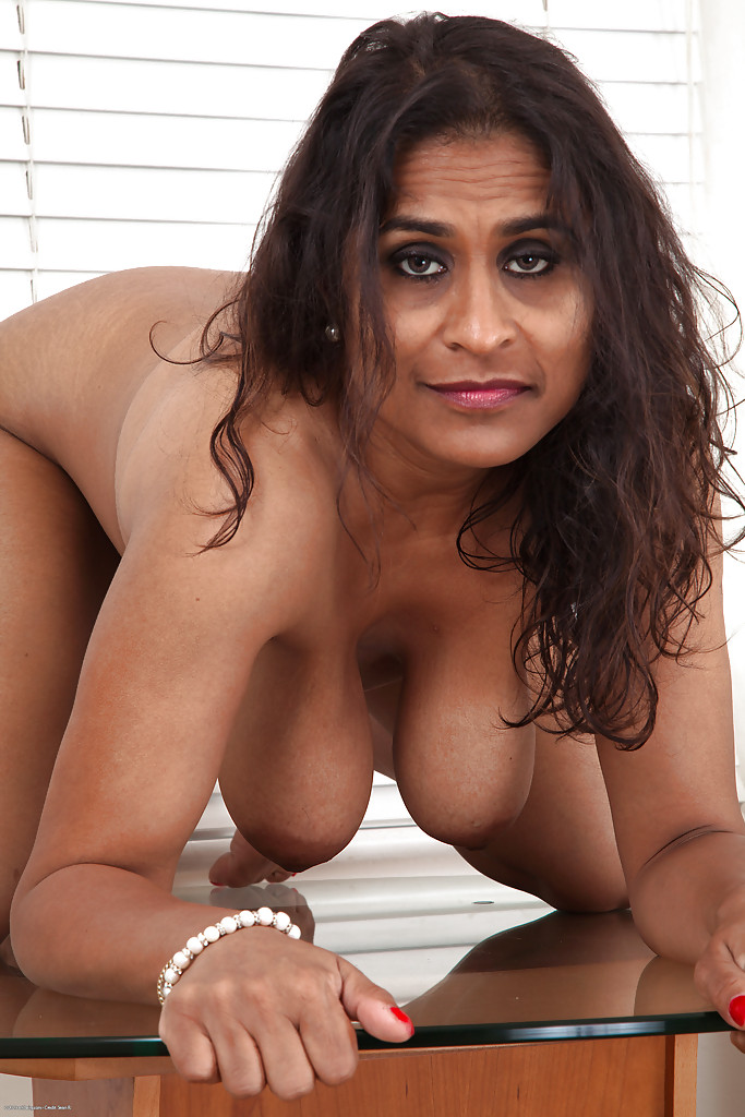 Nude beautiful granny boobs self