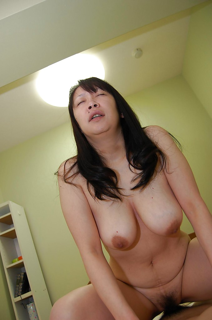 Japanese milf with big tits