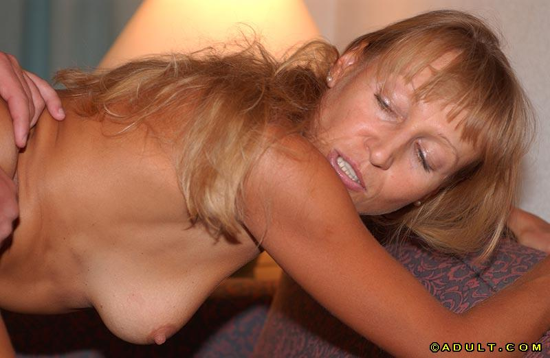 Facialized mature slut