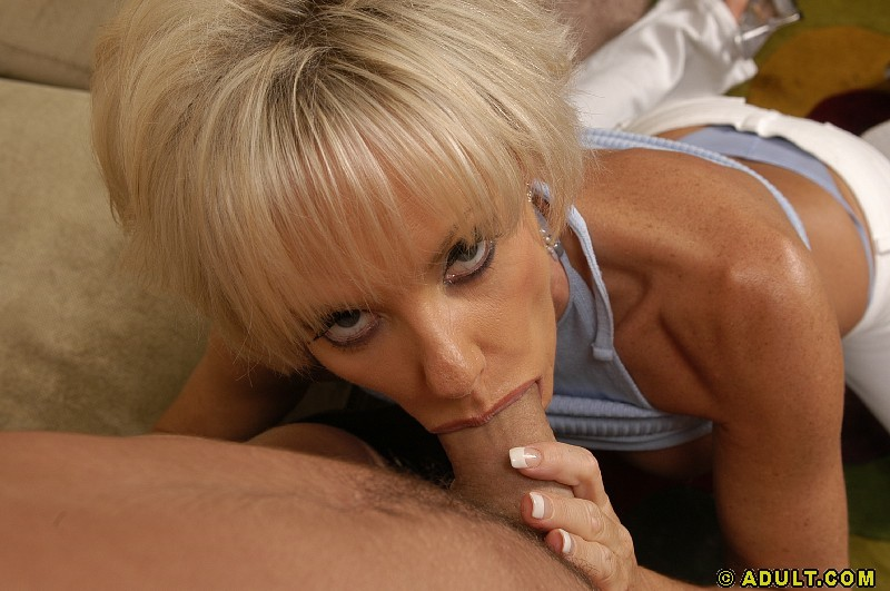 mature cock in mouth