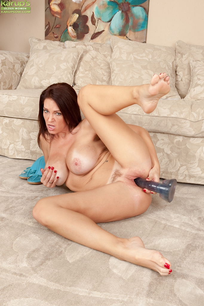 Beautiful girl using dildo agree