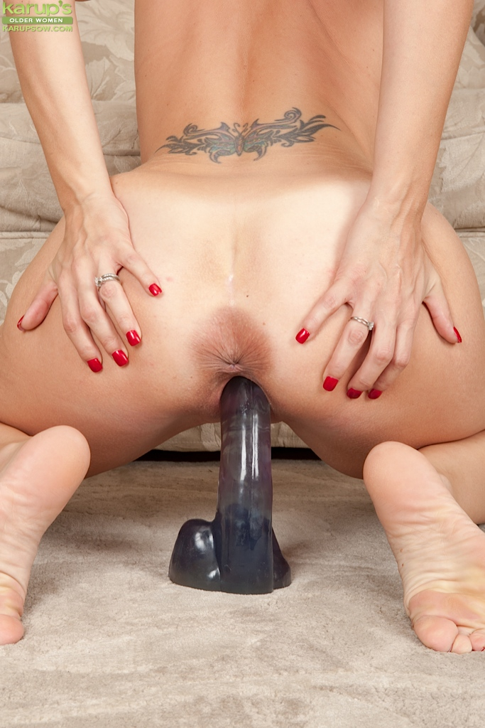 Ride on top dildo right! Idea
