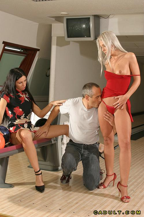 horny woman dominic pacifico proves he can juggle two insane guys mainly passive quite