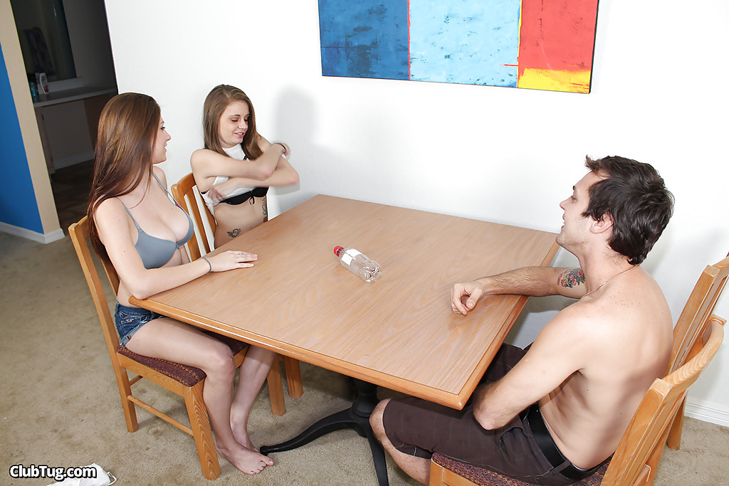 Naked girls playing with big boners useful question