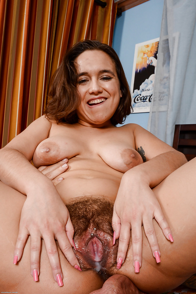 Day hairy nude woman