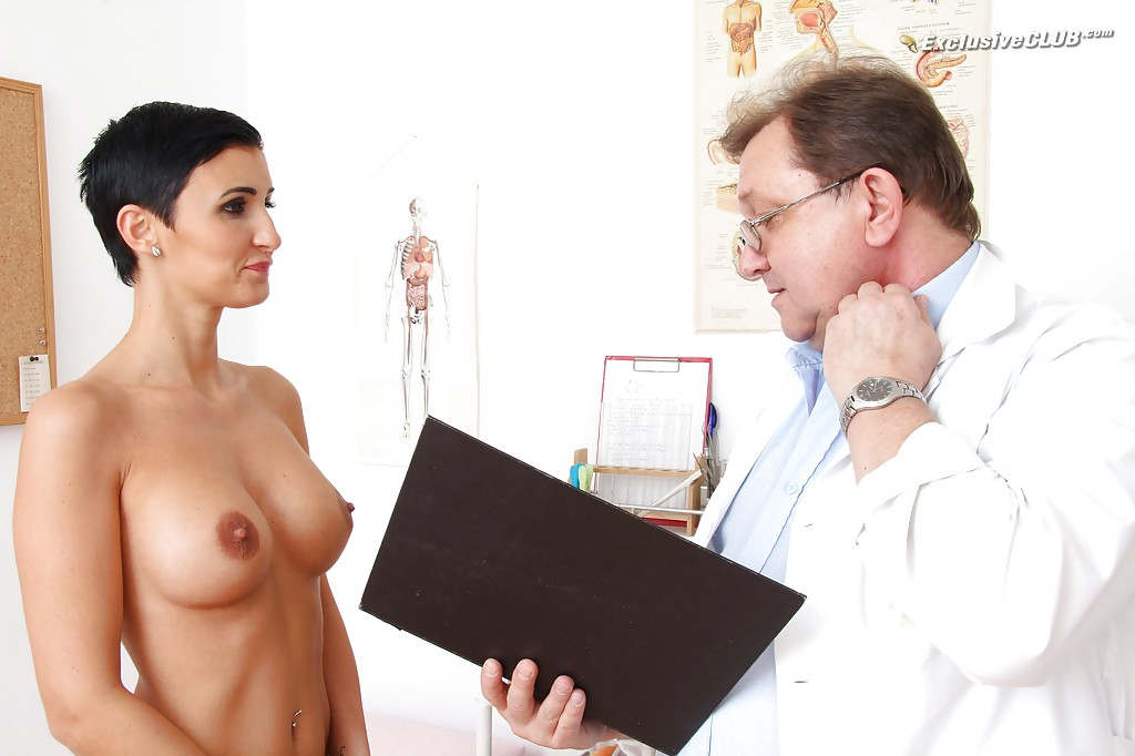 image Gorgeous gabrielle gucci vaginal finger checkup