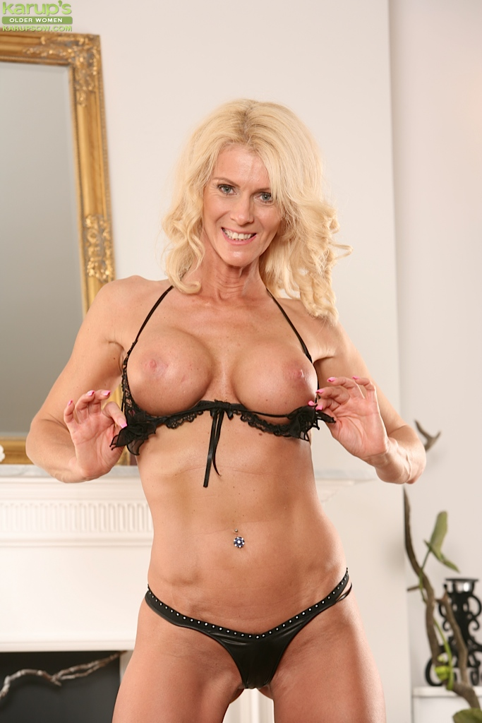 Above told gorgeous older blonde women pity, that