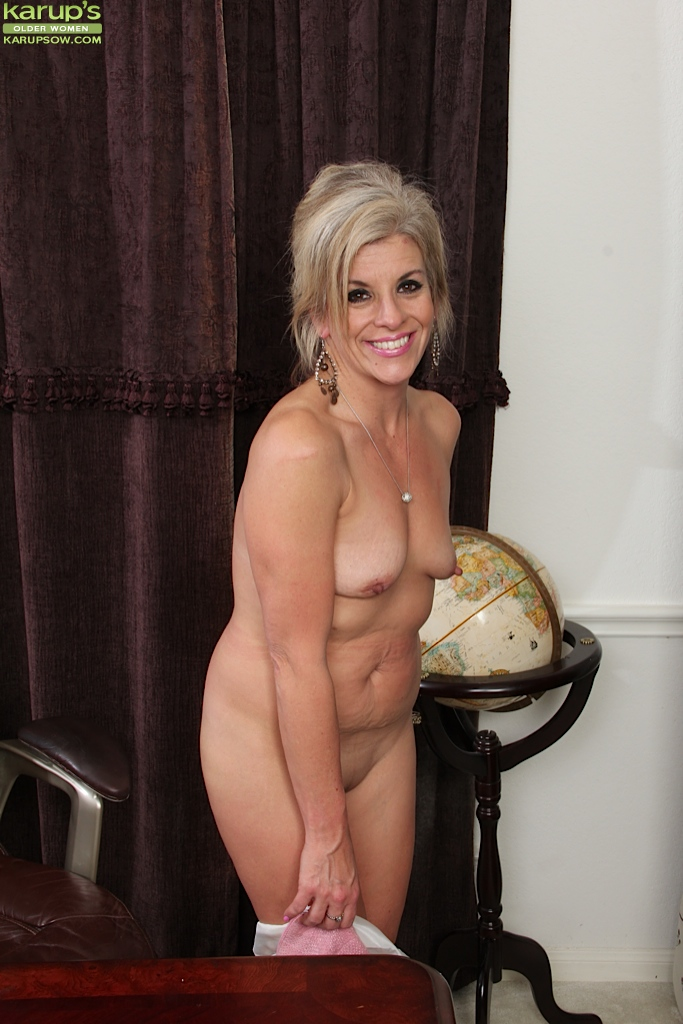 Amiable mature office worker Sierra Smith is in need of ...