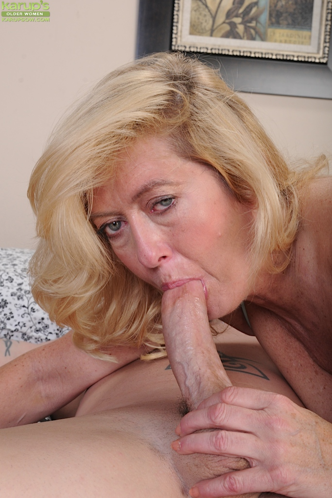 Deepthroat mature women