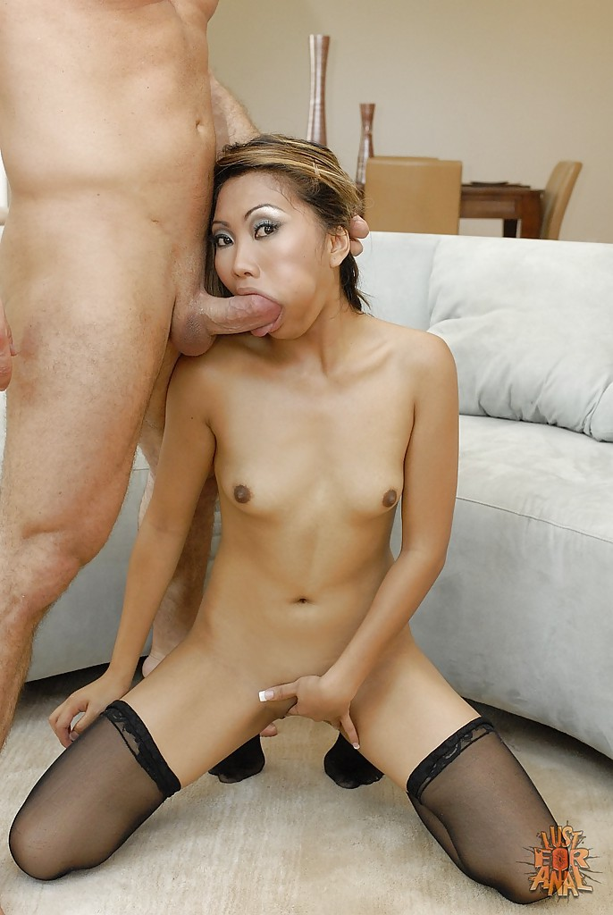 asian anal sexy stocking
