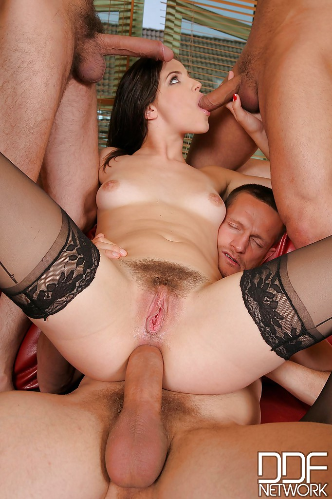 Milf gang bang uk